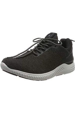 TOM TAILOR Herren 7982004 Sneaker, (Black 00001)
