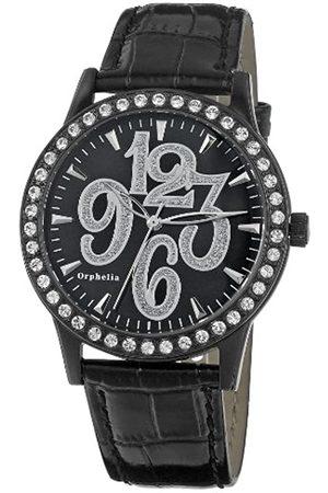 ORPHELIA Damen-Armbanduhr Shiny Analog Quarz Leder