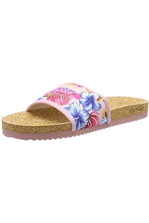 flip*flop Damen poolaloha Pantoletten, Pink (Silverpink 9200)