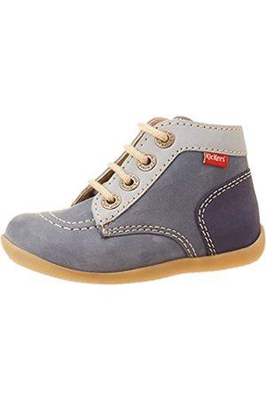 Kickers Unisex Baby Bonbon-2 Stiefel, (Bleu Tricolore 53)