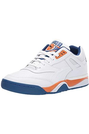 Puma Unisex-Erwachsene Palace Guard Sneaker, White-Jaffa -Galaxy Blue