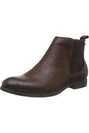 Jack & Jones Herren JFWABBOTT PU Chelsea Boots, (Java Java)