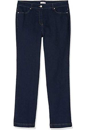 Damart Damen Jeans, Gerade Pantalon Perfect Fit Coupe Droite (Indigo)