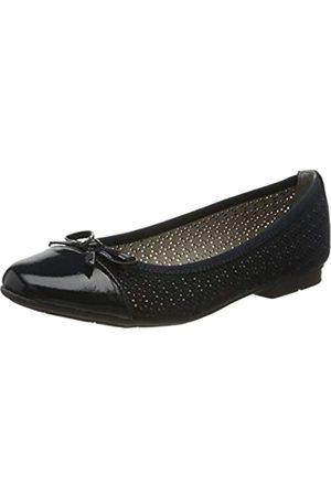 Jana 100% comfort Damen 8-8-22111-24 Geschlossene Ballerinas, (Navy 805)
