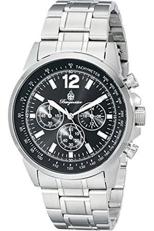 Burgmeister Armbanduhr für Herren mit Analog-Anzeige, Quarz-Uhr mit Edelstahl Armband - Wasserdichte Herrenarmbanduhr mit zeitlosem