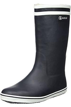 Aigle Damen Malouine Fur Schneestiefel (Marine) 37 EU