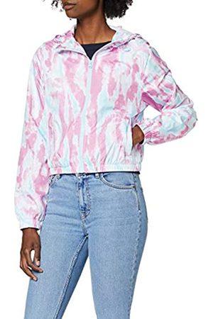 Urban classics Damen Outdoorjacken - Damen Ladies Tie Dye Windbreaker Jacke