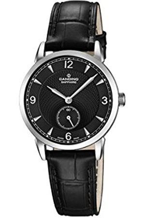 Candino Damen Analog Quarz Uhr mit Leder Armband C4593/4