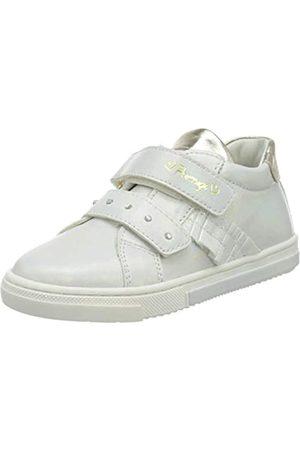 Primigi Baby Mädchen Scarpa PRIMI PASSI Bambina Sneaker, (Bianco/Platino 5406700)