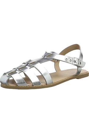 New Look Damen Kladine Sandalen, (Silver 92)