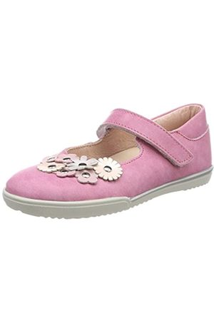 Däumling Mädchen Almut Geschlossene Ballerinas, Pink (Fortuna Begonia)