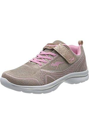 KangaROOS Unisex-Kinder KangaGirl EV II Sneaker, (Dusty Rose/English Rose 6076)