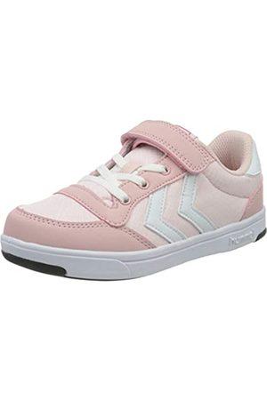 Hummel Mädchen Stadil Ripstop Low JR. Sneaker, Pink (Silver Pink 3026)