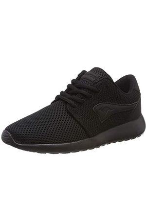 KangaROOS Damen Mumpy Sneaker, (Jet Black/Mono 5500)