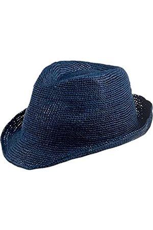 CAPO Unisex Fedoras Rio Melange Hat, (Blue Lagoon 14)