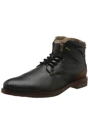 Daniel Hechter Herren 811560431011 Klassische Stiefel, (Black/Cognac 1063)