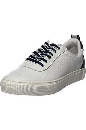 Marc O' Polo Damen 00215823503100 Sneaker, (White Navy 117)