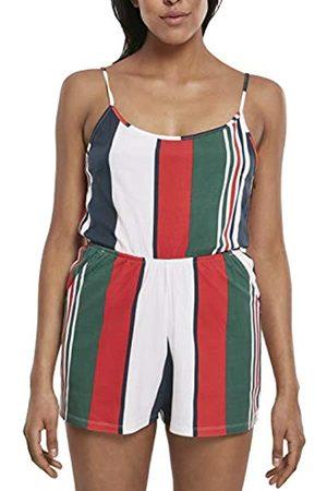Urban classics Damen Ladies Patter Short Spaghetti Jumpsuit