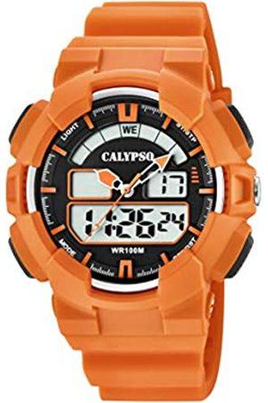 Calypso watches Herren Analog-Digital Quarz Uhr mit Plastik Armband K5772/1