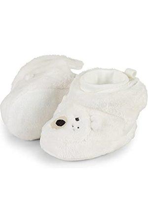 Sterntaler Unisex Baby Schuhe mit Bündchen, Farbe: Ecru, Größe: 15/16, Alter: 4-6 Monate