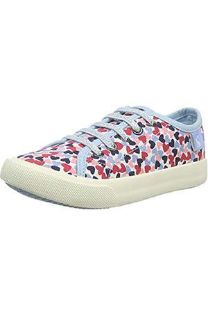 Tom Joule Mädchen Coast Pump Sneaker, (White Hearts Whthearts)
