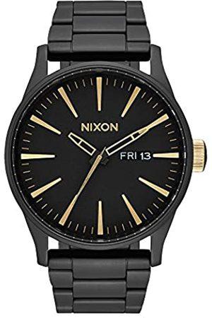 Nixon Armbanduhr Sentry Edelstahl