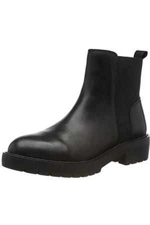 Steve Madden Damen Gliding Bootie Chelsea Boots, (Black Leather 017)