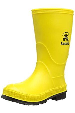 Kamik Unisex-Kinder Stomp Gummistiefel, (Yellow Yek)