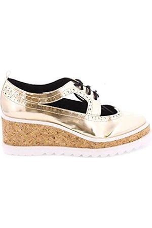 Sixtyseven Damen 77924 Kleid-Schuhe, ORO/ORO/Blanco