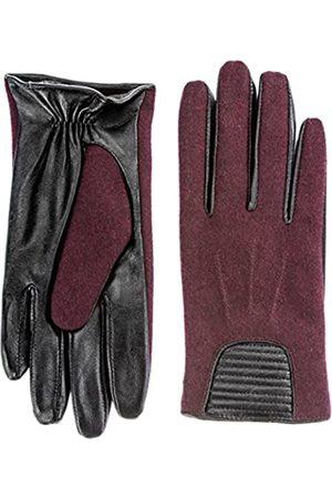Berydale Damen Lederhandschuhe mit modischem Einsatz