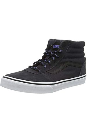 Vans Unisex-Kinder Ward Hi Suede Hohe Sneaker, ((Weatherized) Black/Asphalt USU)