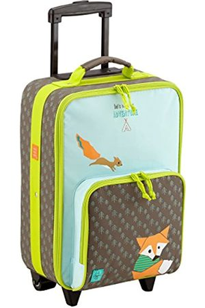 LÄSSIG Kinderkoffer/ Trolley Kindergepäck/ Reisekoffer mit Teleskopgriff und Rollen/Kids Trolley
