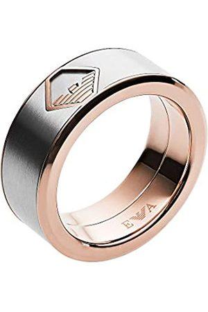Emporio Armani Herren-Ringe Edelstahl mit '- Ringgröße 65 EGS2635040-11.5