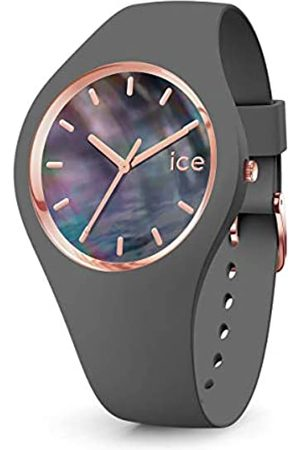 Ice-Watch ICE pearl Grey -e Damenuhr mit Silikonarmband - 016937 (Small)