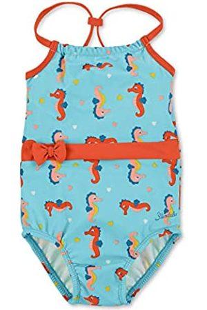 Sterntaler Kinder Mädchen Badeanzug mit Windeleinsatz, UV-Schutz 50+, Alter: 18-24 Monate, Größe: 92