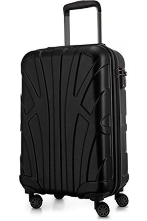 SUITLINE Handgepäck Hartschalen-Koffer Koffer Trolley Rollkoffer Reisekoffer, TSA, 55 cm, ca. 34 Liter