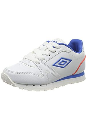 Umbro Jungen Newhaven 3 Sneakers, (White/Electric Blue/Fiery Coral FGV)