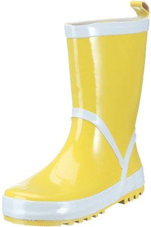 Playshoes Kinder Gummistiefel aus Naturkautschuk, trendige Unisex Regenstiefel mit Reflektoren, ( 12)