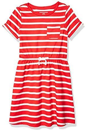 Amazon Girls' Short-Sleeve Elastic Waist T-Shirt playwear-dresses