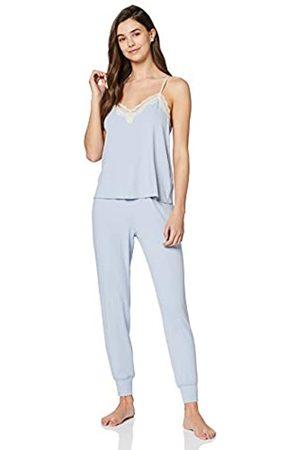 Iris /& Lilly Damen Pyjama-Set aus Baumwolle Marke