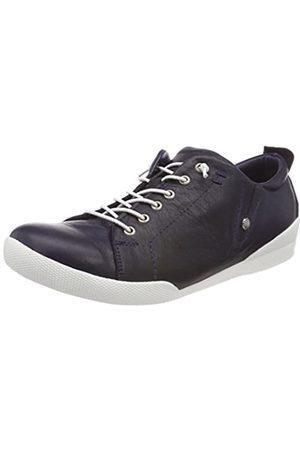 Andrea Conti Damen 0345724 Sneaker, (Dunkelblau 017)