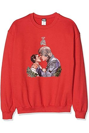 STAR WARS Herren Men's Christmas Mistletoe Kiss Sweatshirt