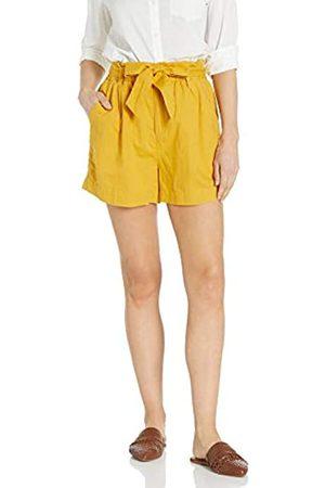 Goodthreads Washed Linen Blend Paper Bag Waist Shorts