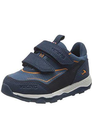 Viking Evanger Low GTX, Unisex-Kinder Sneaker, (Navy/Navy 505)
