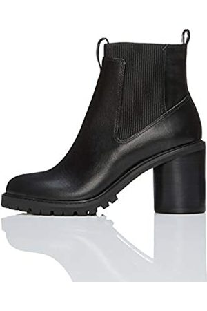FIND Chunky Chelsea Boots, Black)