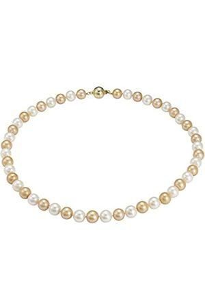 Pearl Dreams Damen-Collier Silber vergoldet rhodiniert 45 cm - PD43