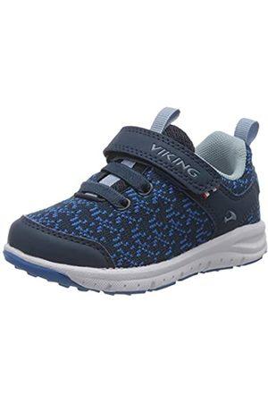 Viking Unisex-Kinder Veil Sneaker, (Navy/Blue 535)