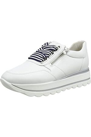Gabor Shoes Damen Jollys Sneaker, (Weiss/Marine Kombi 21)