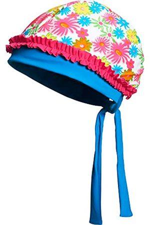 Playshoes Mädchen UV-Schutz Kopftuch Blumenmeer Mütze