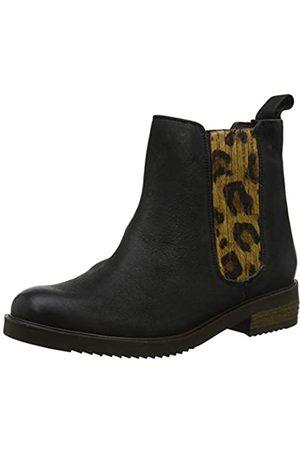 Hush Puppies Damen Stella Chelsea Boots, (Black Black)